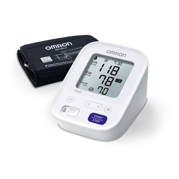 Omron M3 aвтоматичен апарат за измерване на кръвно налягане над лакътя