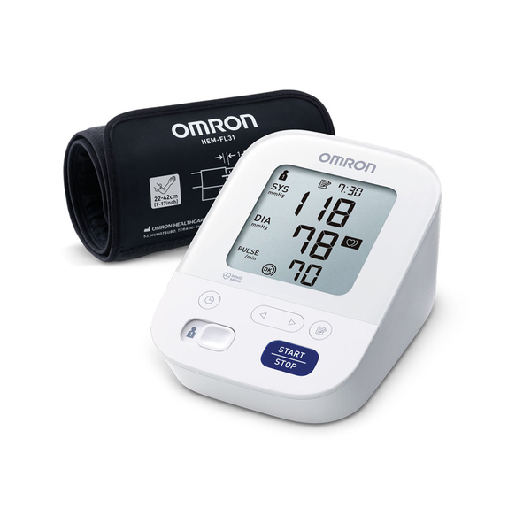 Omron M3 Comfort aвтоматичен апарат за измерване на кръвно налягане над лакътя