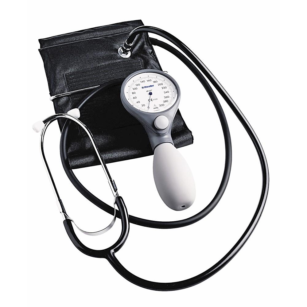 Riester Ri-San® механичен апарат за измерване на кръвно..