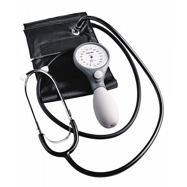 Riester Ri-San® механичен апарат за измерване на кръвно налягане с вграден стетоскоп