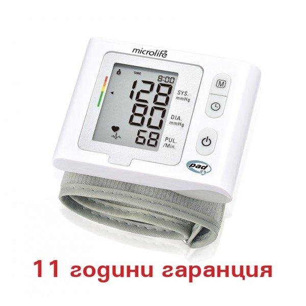 Microlife ВР W2 Slim автоматичен китков апарат за кръвно налягане