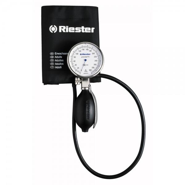 Riester Precisa® N механичен апарат за кръвно, диаметър 64 mm, метален корпус