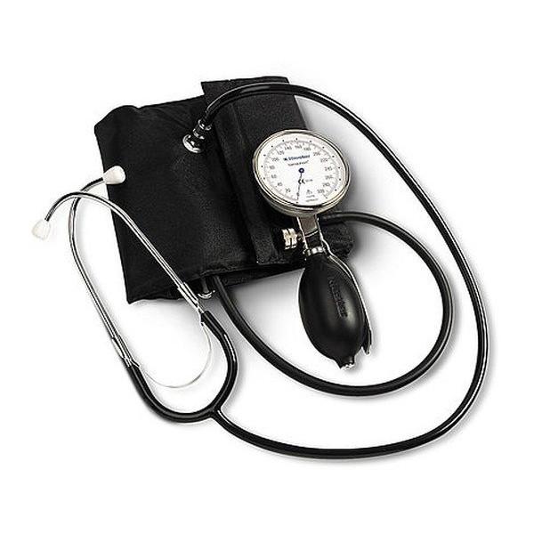 Riester Precisa® N механичен апарат за кръвно с вграден стетоскоп
