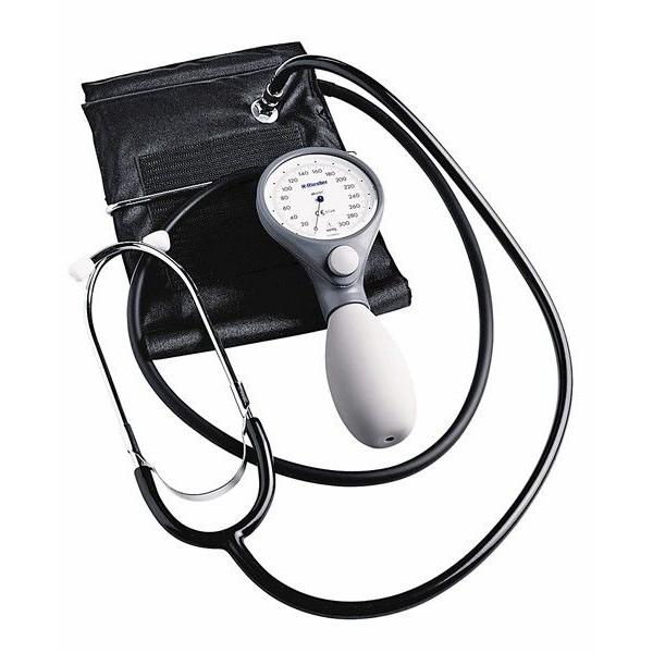 Riester Ri-San® механичен апарат за кръвно с вграден стетоскоп