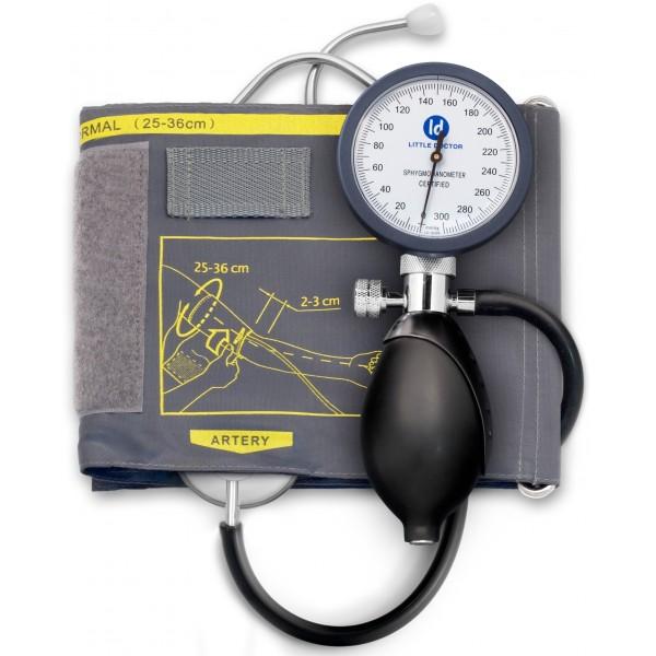 Little Doctor LD81 комбиниран механичен апарат за кръвно