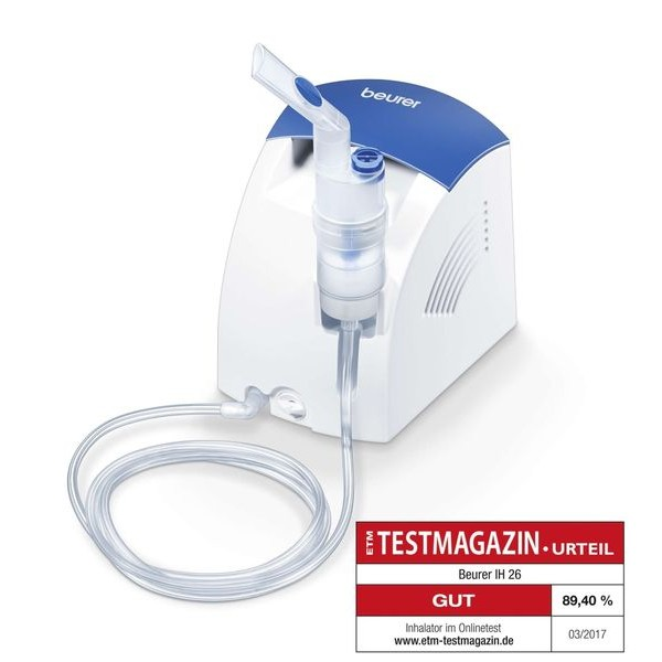 Beurer IH 26 компресорен инхалатор с назален душ