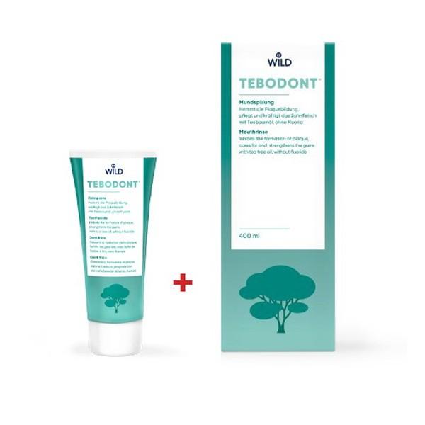 TEBODONT® паста за зъби + вода за уста