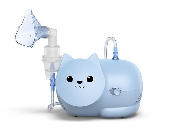 Инхалатори за деца - OMRON Nami Cat инхалатор за деца